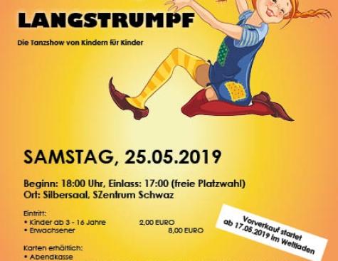 PIPPI LANGSTRUMPF - die Tanzshow für Kinder